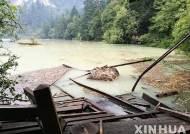 중국 쓰촨성 강진 사망자 25명···다수는 관광객