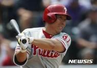 [MLB]'일주일 만에 선발' 김현수, 메츠전 4타수 무안타