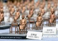 한일 위안부 합의 폐기 '10억엔 반환 시민 모금' 선포