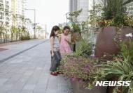 성동구, 왕십리뉴타운 일대 550m 구간 '꽃길' 조성