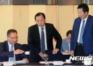 논의하는 한국사립대학총장협의회-한국대학교육협의회