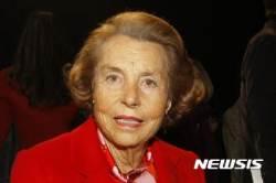세계 최고 여성 부호인 로레알 상속녀 베탕쿠르 사망