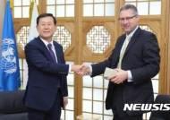 이성호 인권위원장-DCAF 총장, 군인권보호관 설치 논의