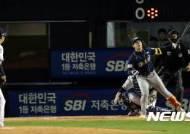 2점포 날린 김성욱, 전화위복