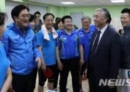 국회의원 탁구모임-주한중국대사관 친선경기 참석한 추궈홍 대사