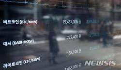 가상화폐, 증시 테마주도 '추락'…비트코인 폭락·정부 규제 움직임 영향