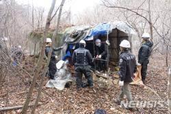 태백산 불법시설물 올해 10개소 철거…아직 34개소 68동 남아