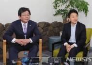 """[종합]유승민 """"원희룡 만나 통합 취지 설명…거취 확답은 없었어"""""""