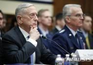 """[종합]매티스 """"핵전력 강화는 협상카드…협상의 지렛대 될 것"""""""