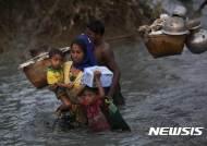 미얀마, 황무지 고립된 로힝야 난민 6000여명 재정착 합의