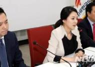 발언하는 배현진 송파을 당협위원장