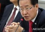 """홍준표, '공동묘지黨' 표현에 발끈 """"우리 당 후보 폄훼·모욕 말라"""""""