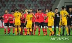 여자축구, 아시안컵 1차전서 강호 호주와 무승부