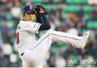 '호랑이 사냥꾼' 장원준, 6이닝 1실점…KIA전 8연승