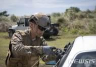 EOD 작전 훈련하는 공군 요원
