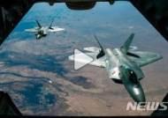 美 F-22 스텔스전투기, 방공식별구역 침입 러 폭격기 긴급요격