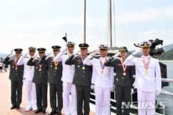 해군·해병대 장교 첫 발, 337명 소위 임관