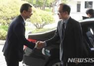 대전지방고등검찰청 찾은 문무일 검찰총장