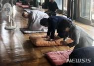 6.13지방선거 승리기원 예불 드리는 홍준표