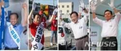 강원도지사·교육감 후보자, 선거날 투표독려 방송· 감사인사 등 '각양각색'