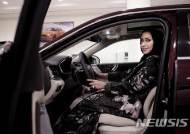 사우디 여성운전 24일부터 허용, 리야드거리에 첫 등장