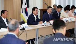 """""""골든타임 놓칠라"""" 김영록 전남지사 당선자 국고확보 '행보'"""
