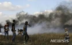 이스라엘 군 , 화염 연과 풍선 날린 가자청소년들 공습