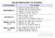 [금융그룹 통합감독]자본적정성·내부거래 등 위험관리실태 평가