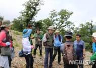 국립백두대간수목원 연구팀, 가리왕산 생태복원 착수