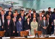 박원순 시장, 리콴유상 수상…리셴룽 싱가포르 총리 면담