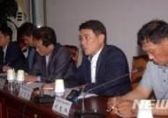 라돈 사태 대책 요구하는 신진영 한국당 천안을 당협위원장