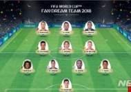 모드리치, 별 중의 별····세계축구팬 선정 '월드컵 드림팀'