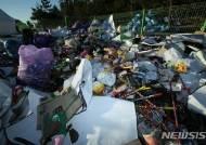 [르포] 강릉 해수욕장마다 쓰레기 쏟아져 해양오염 우려