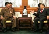 리진쥔 북한 주재 중국대사와 김형룡 북한 무력성 부상