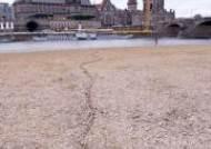 유럽 각국, 폭염·가뭄 몸살…바닥 드러낸 독일 엘베강