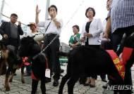 정동영 민주평화당 대표, 흑염소 가격 폭락 긴급수매 기자회견 모두