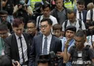 """홍콩 급진독립파 민족당 대표 """"중국의 홍콩 통치는 식민 지배"""""""