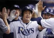 최지만, 보스턴전에서 안타 1개·볼넷 2개…타율 0.243