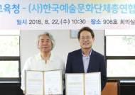 서울시교육청-한국예술문화단체총연합회 업무협약