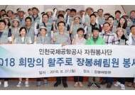 인천공항 자원봉사단 '장봉혜림원 봉사활동'