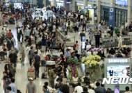 인천공항 외국인 입국자 700만명 돌파…中·日 관광객 급증