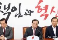발언하는 김병준비대위원장