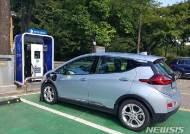 남한산성 주차장에 전기차 충전기 8대 설치…한달 무료