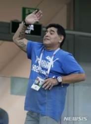 아르헨 축구영웅 마라도나, 멕시코 2부리그 감독됐다