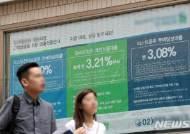은행권 주택대출금리 줄인상...잔액 기준 0.02%p 올라