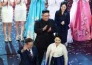 [평양정상회담]文·金 평양대극장서 삼지연악단 공연 함께 관람