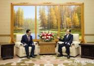 여야 3당 대표- 김영남최고인민회의 상임위원장 면담