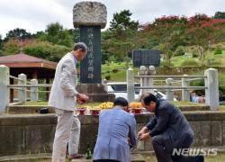 """""""내년 명절은 고향서 보냈으면"""" 광주 실향민 합동 차례"""