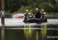 허리케인 플로렌스, 하비 다음으로 사상최다 폭우