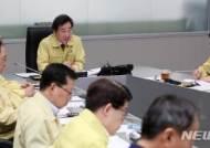 태풍 대처상황 점검회의 주재하는 이낙연 총리